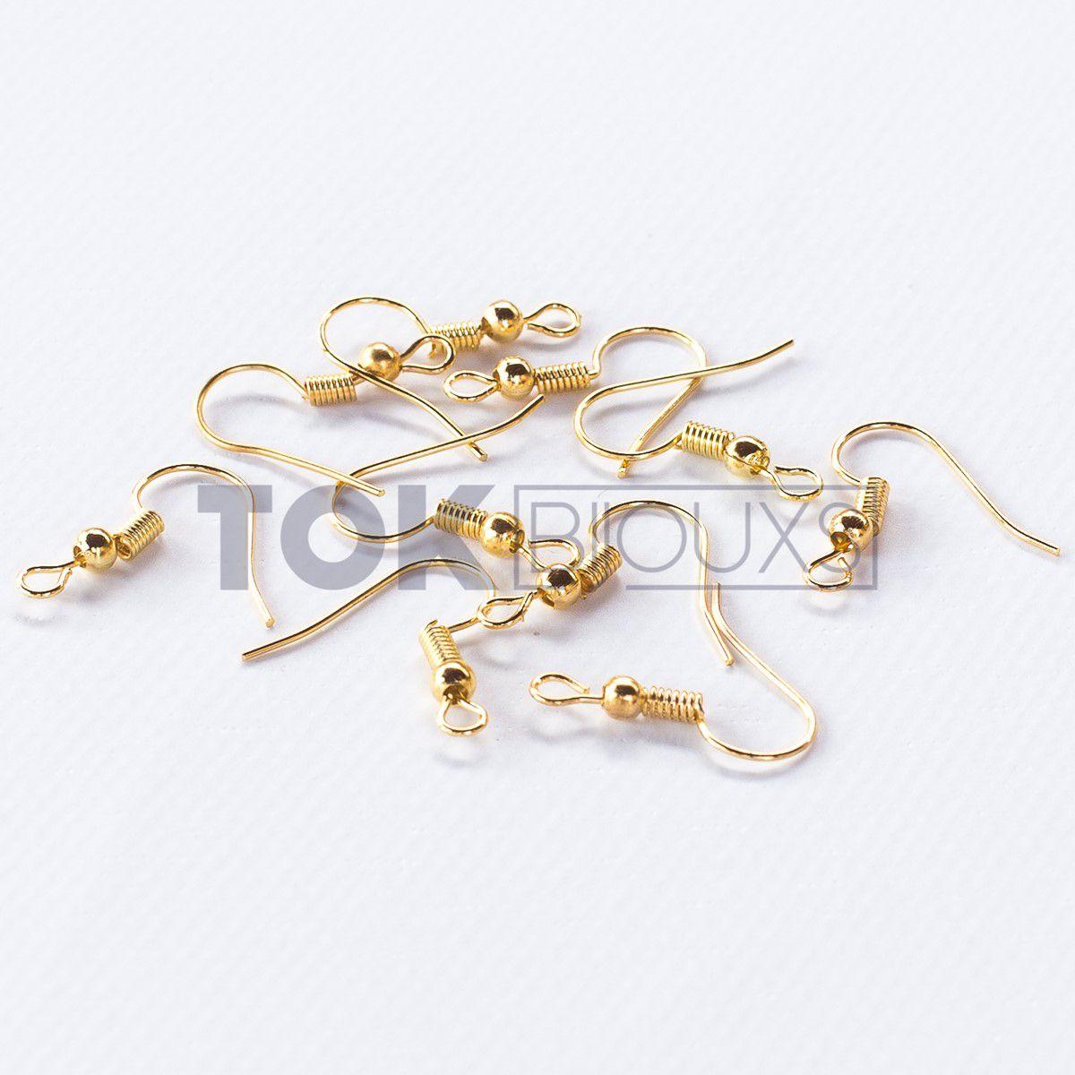 Anzol De Brinco - Dourado - 20un