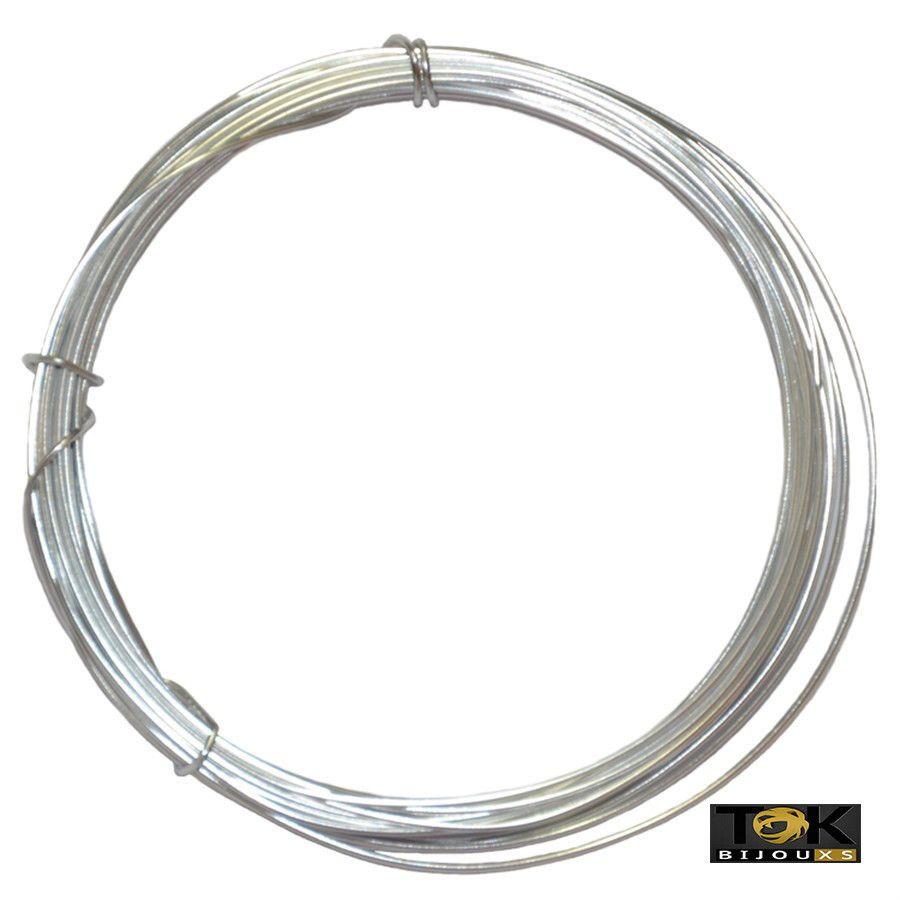 Arame Aluminio Prata 1,8mm - 500g