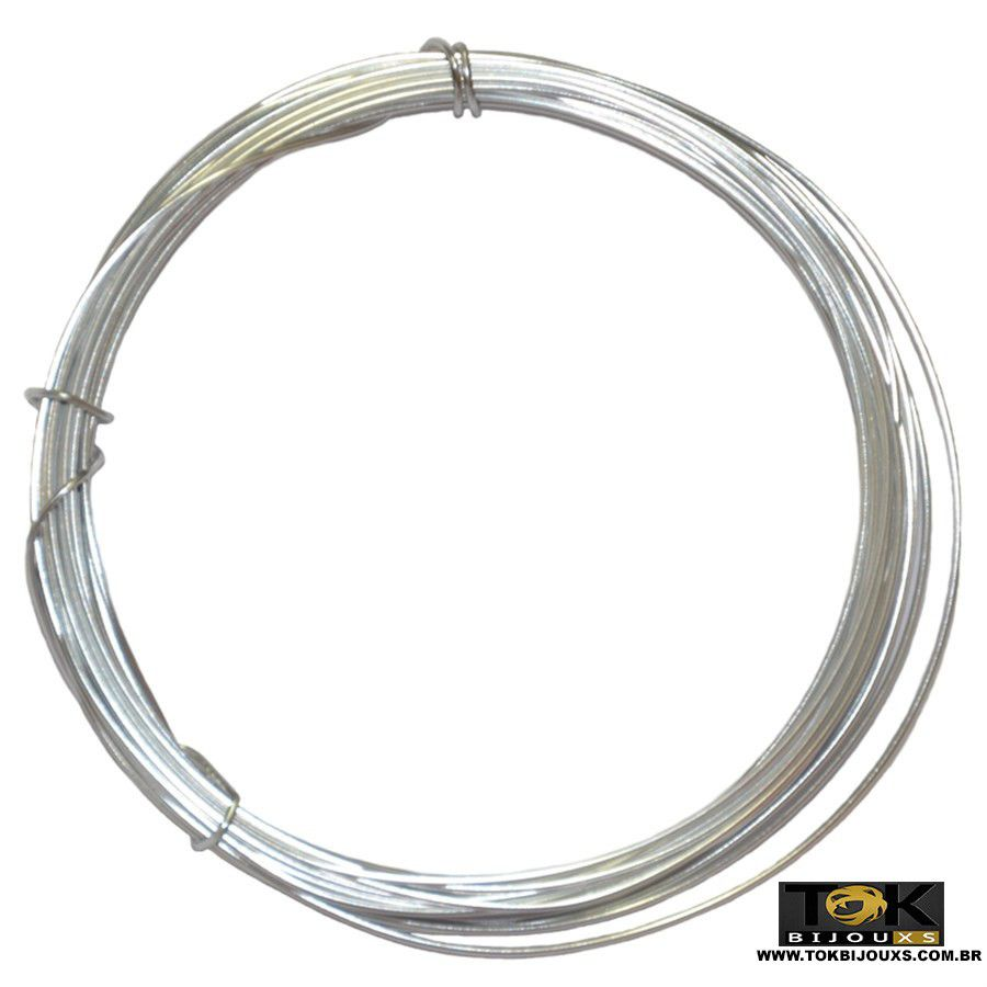 Arame Aluminio Prata 2,0mm - 500g