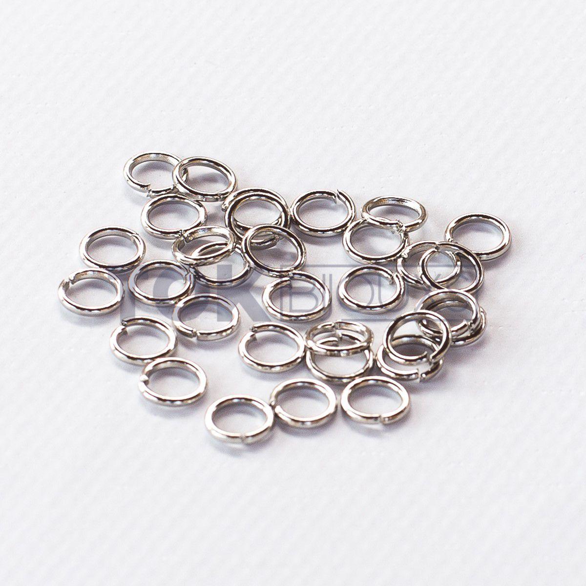 Argola De Ferro 10mm - Niquel - 500g
