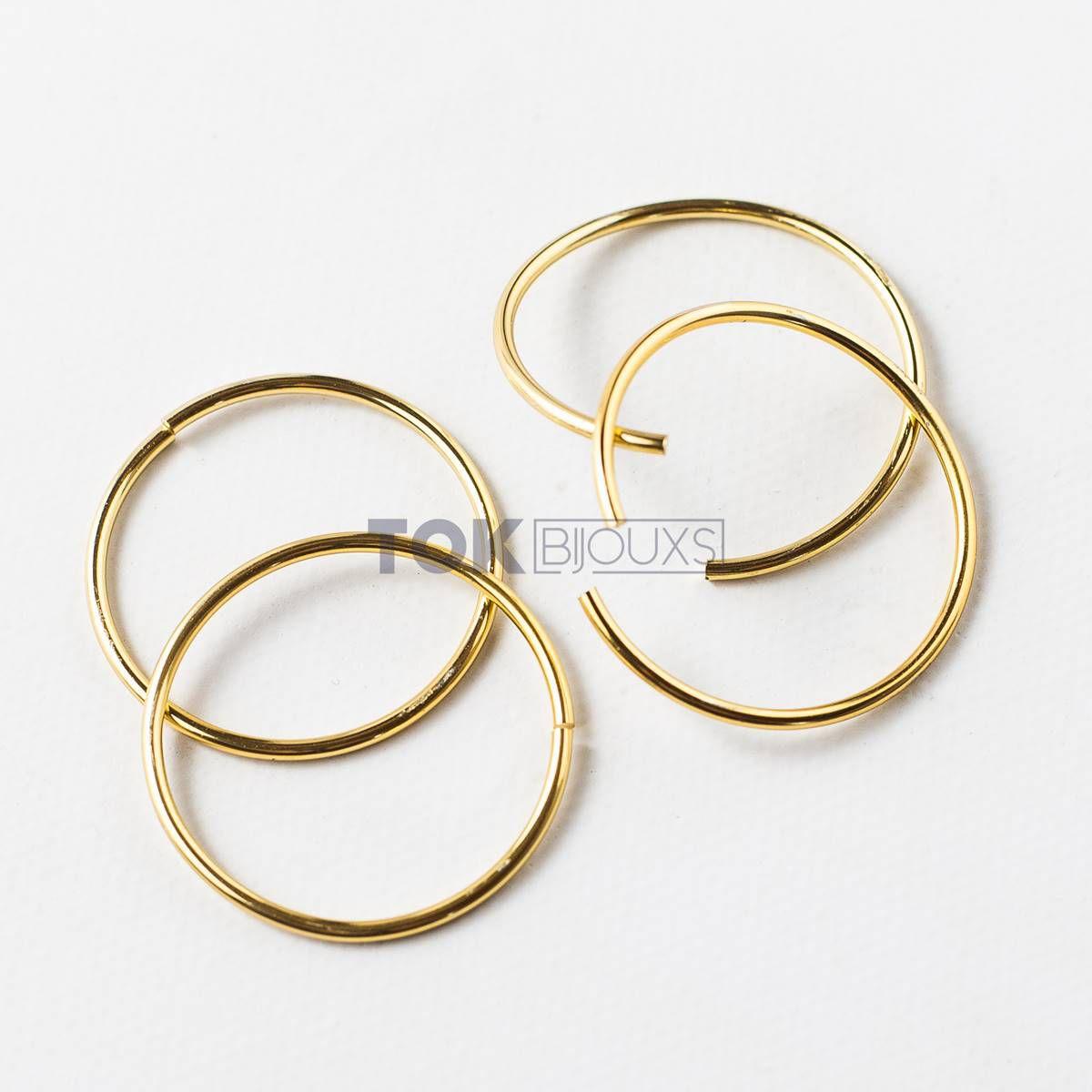 Argola Porta Guardanapo - Uma Volta - Dourado -  Unidade