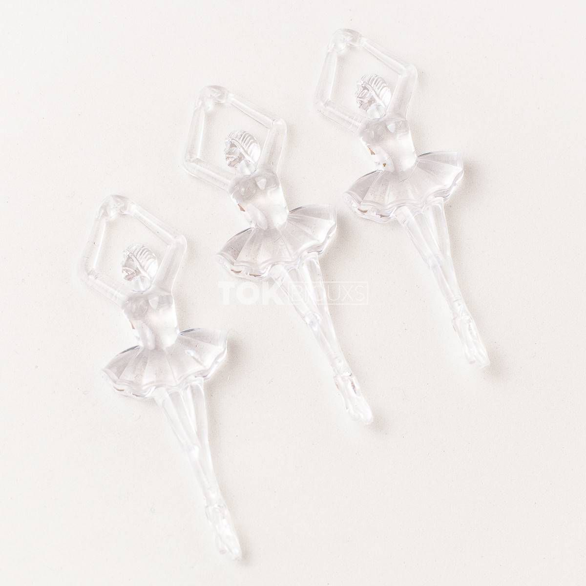 Bailarina Acrílico - Transparente - 250g