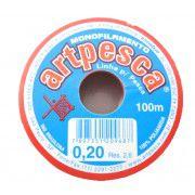 Atacado - Fio De Nylon 0,20 Artpesca® - Caixa C/ 20 Rolos