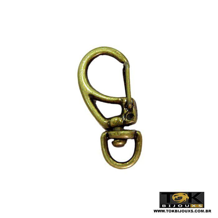 Atacado - Mosquetão Ii - Ouro Velho - 45mm - 50  Unid