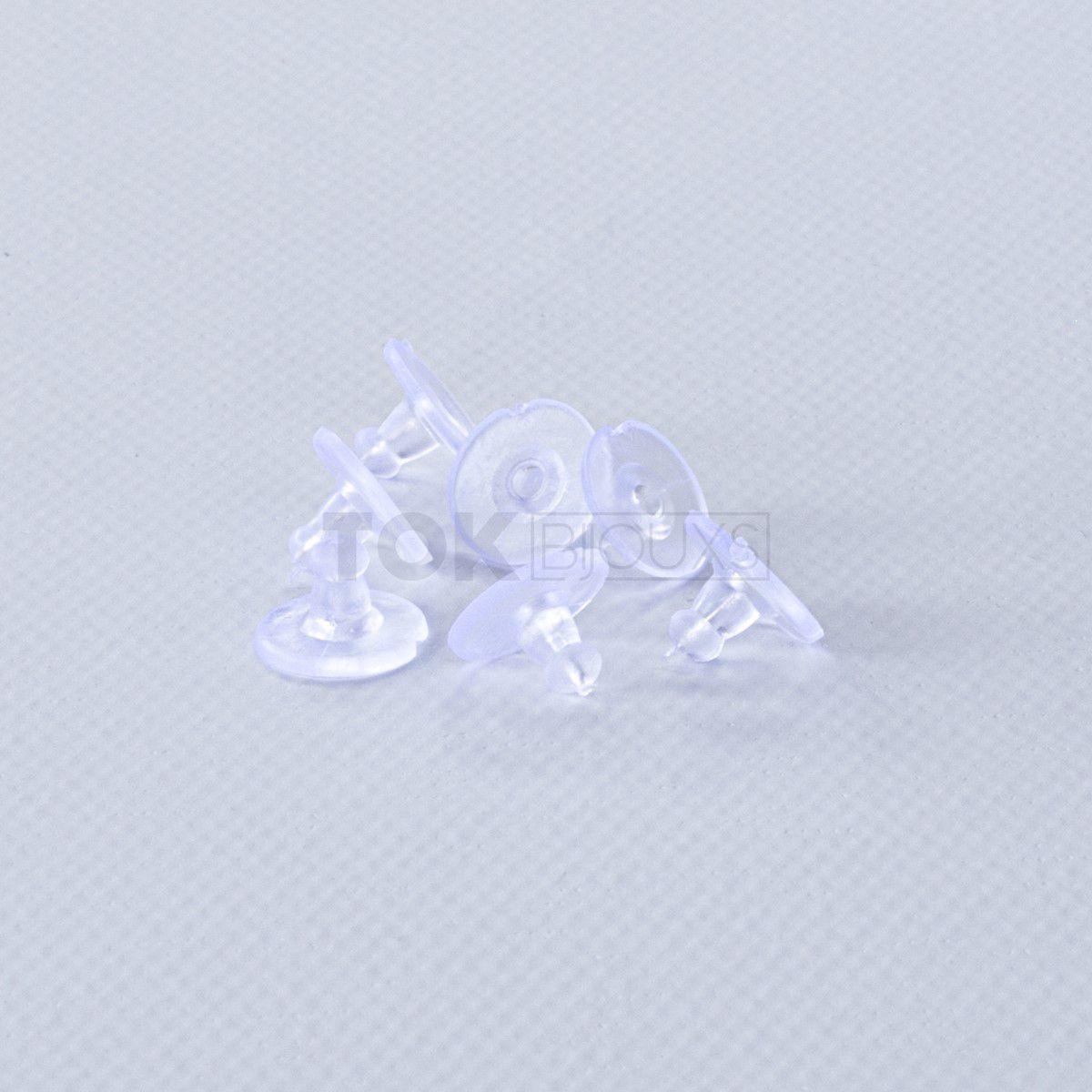 Tarracha Para Brinco - Silicone - 1000 Un