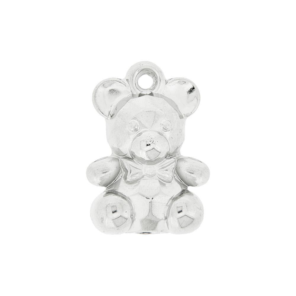 Atacado - Ursinho Acrílico - Transparente - 500g