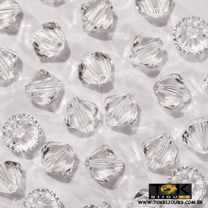 Balão Swarovski / Preciosa - 4mm - Cristal Transparente - 720Un
