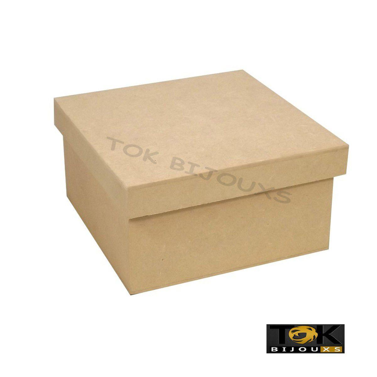 Caixa Tampa Sapato Mdf - 10X10X5 - 1  Unid