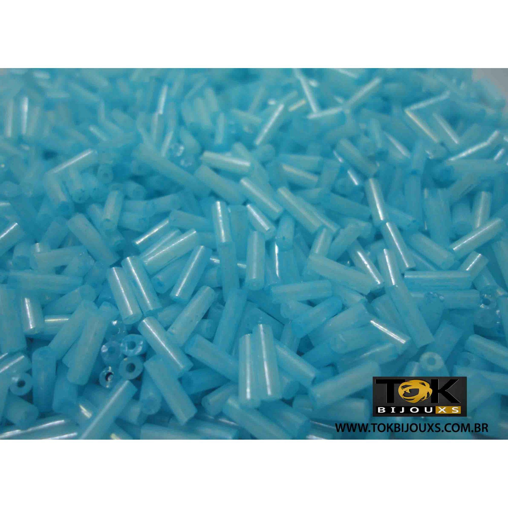 Canutilho Azul Bebe Perolado - 50g