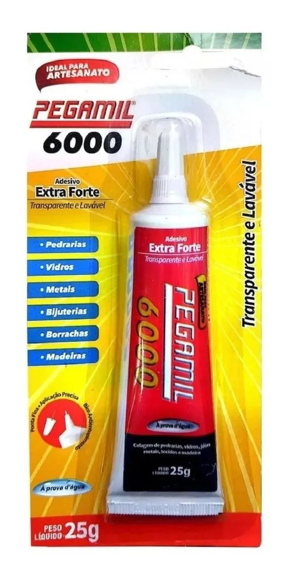 Cola Pegamil 6000 - 25g