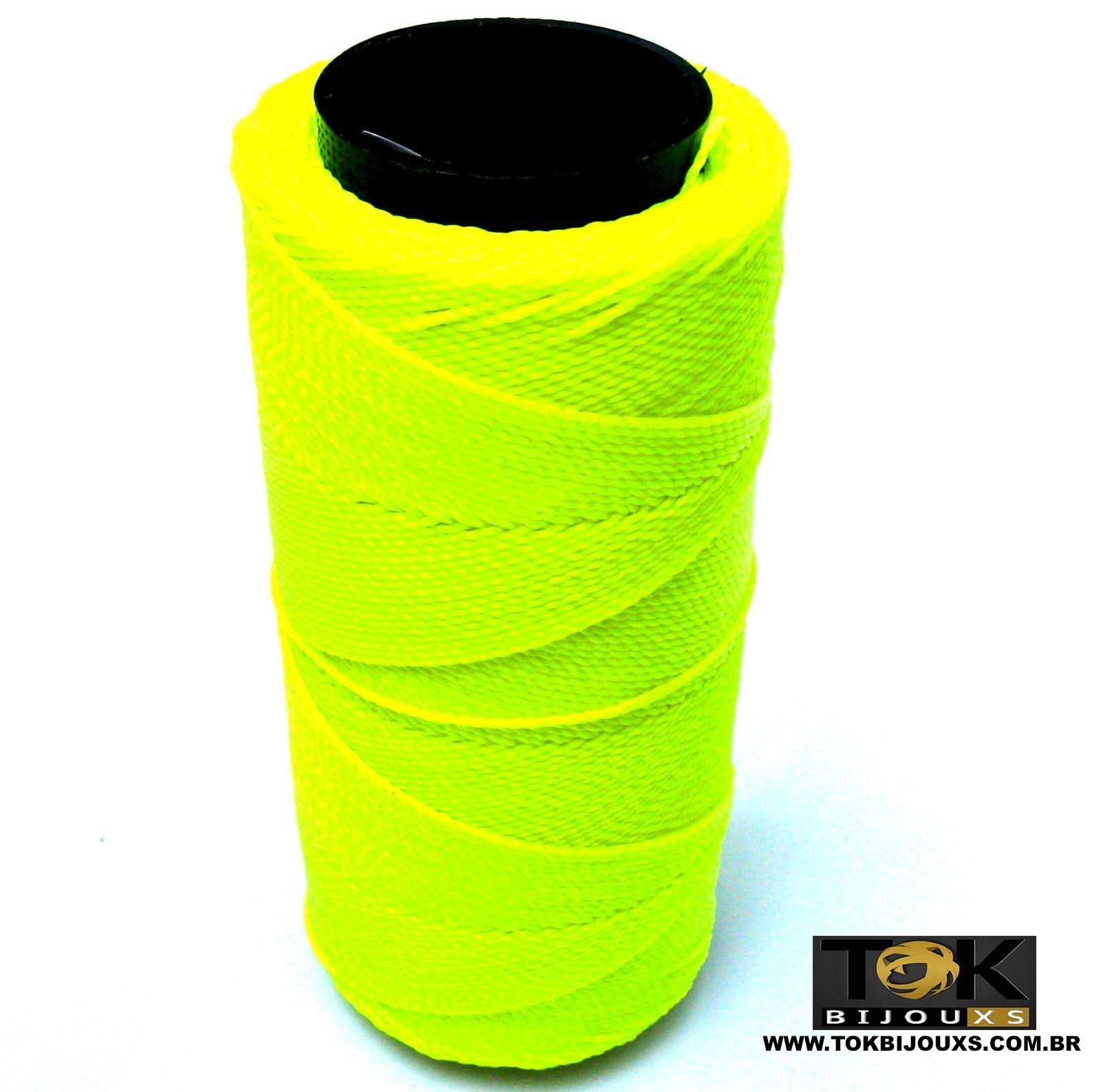 Cordão Encerado Settanyl 100g - Amarelo Cítrico