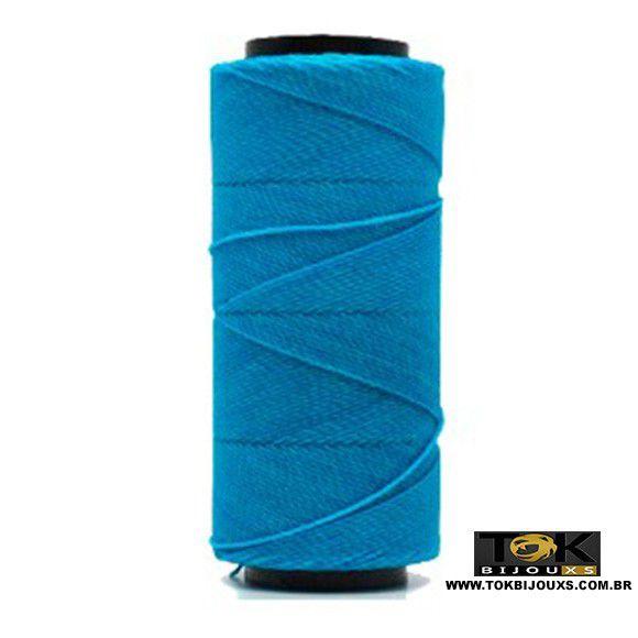 Cordão Encerado Settanyl 100g - Azul Celeste