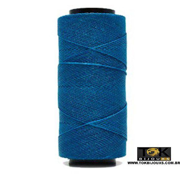 Cordão Encerado Settanyl 100g - Azul Royal