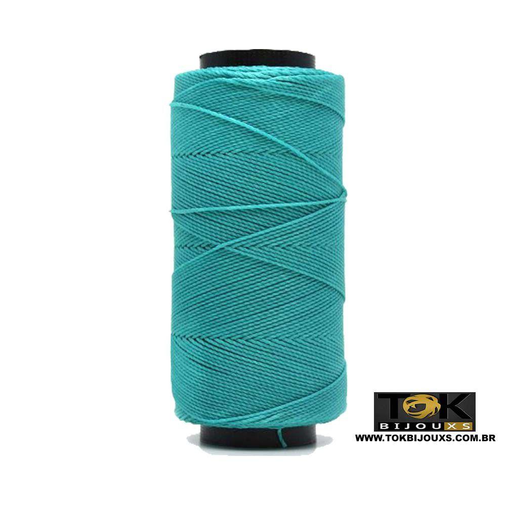Cordão Encerado Settanyl 100g - Azul Turquesa