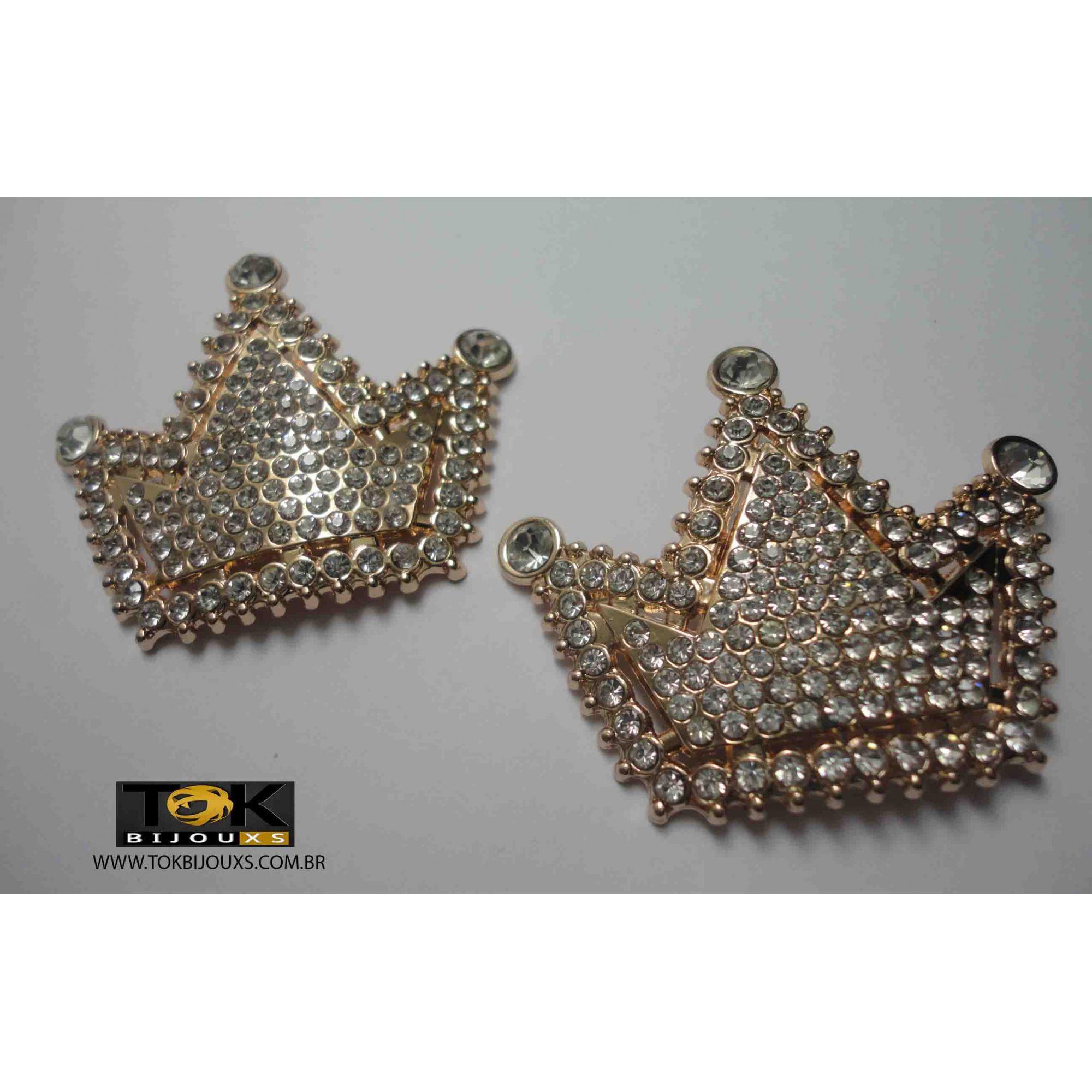 Coroa Dourada - 60X45mm - 1 Par