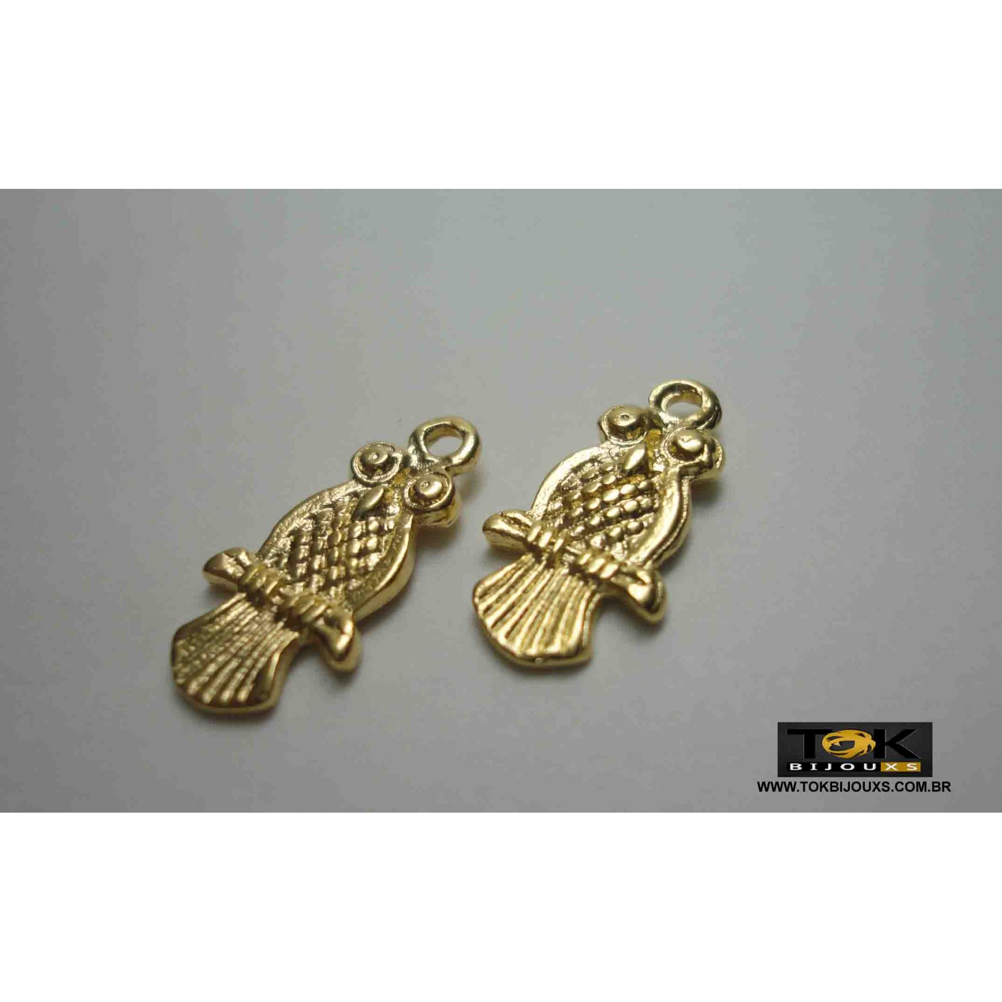 Coruja Ii - Dourado - 10  Unid