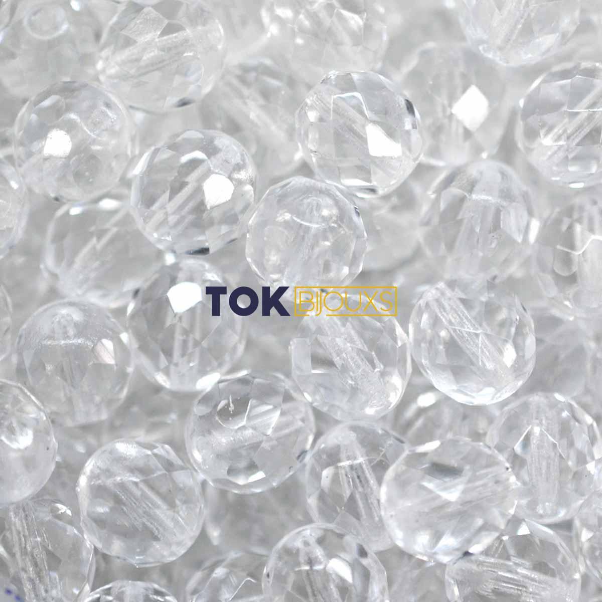 Cristal Jablonex / Preciosa ® 10mm - Transparente - Unidade