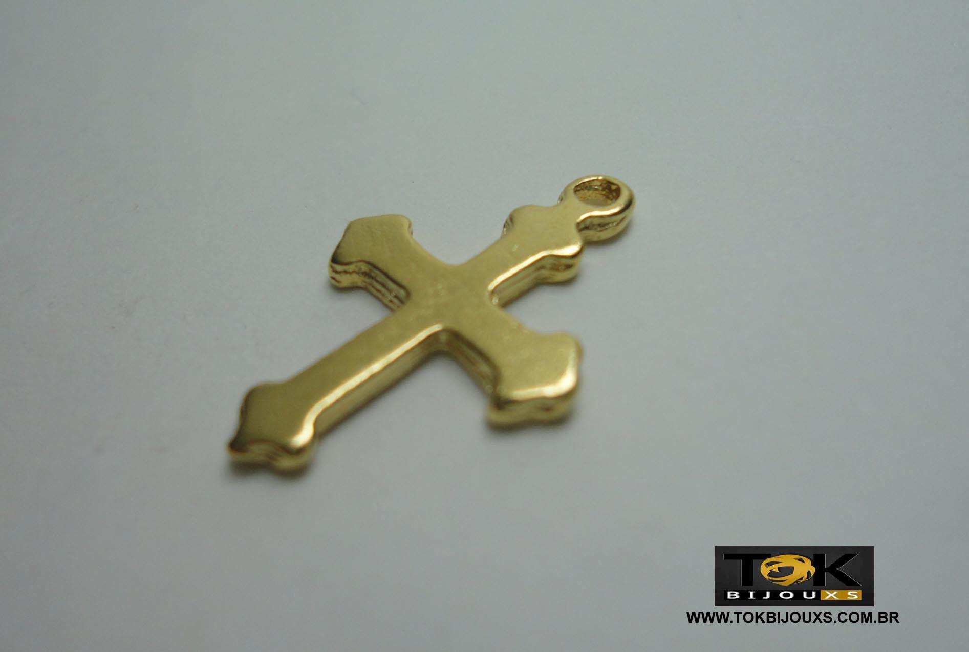 Cruz N.1 - Dourado - 10  Unid