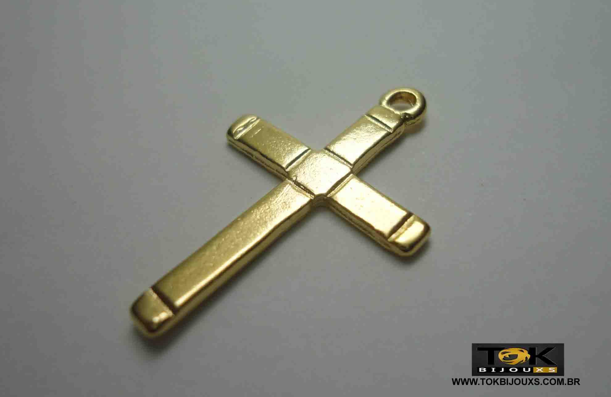 Cruz N.2 - Dourado - 1  Unid
