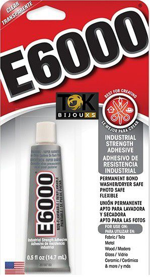 E6000® - Super Cola E-6000 Jewelry & Bead 0.5 Fl 14,7ml
