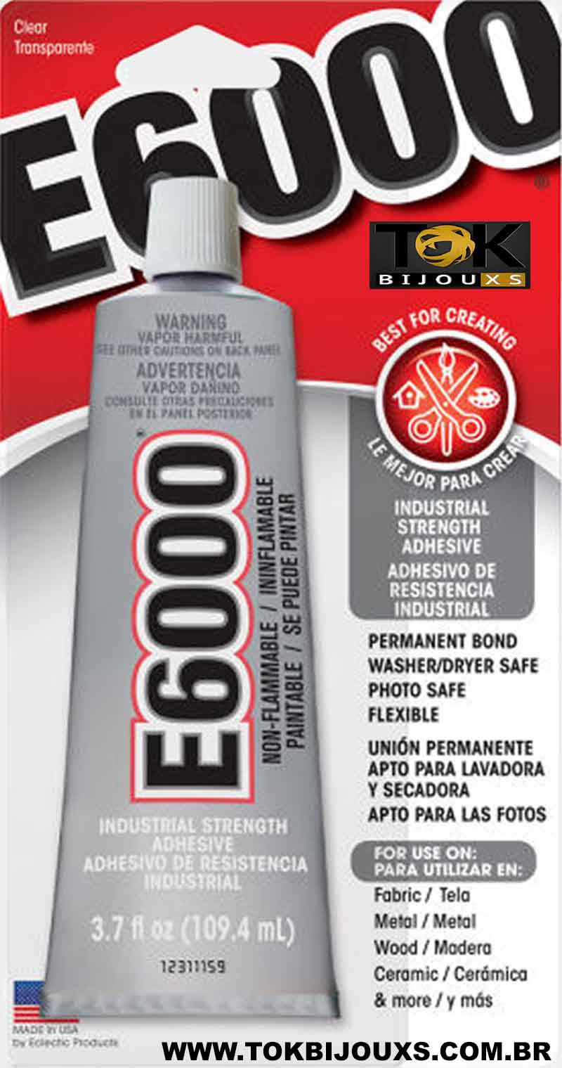 E6000® - Super Cola E-6000 Jewelry & Bead 3.7 Fl 109,4ml