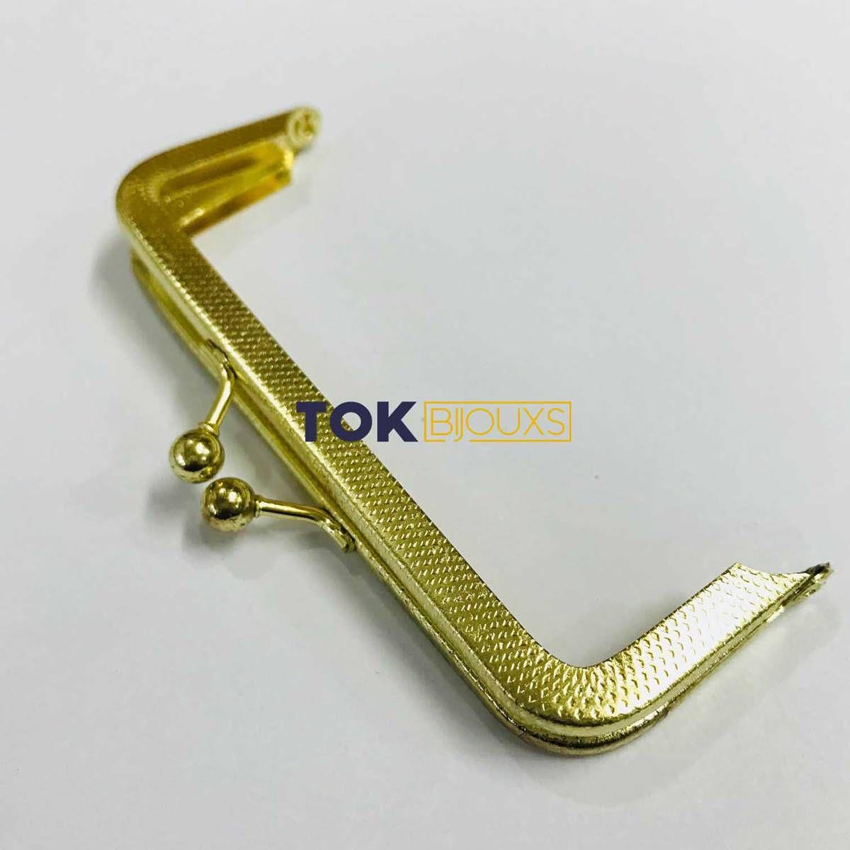 Fecho Da Vóvó Armação - 10x4cm - Dourado - 1 Un