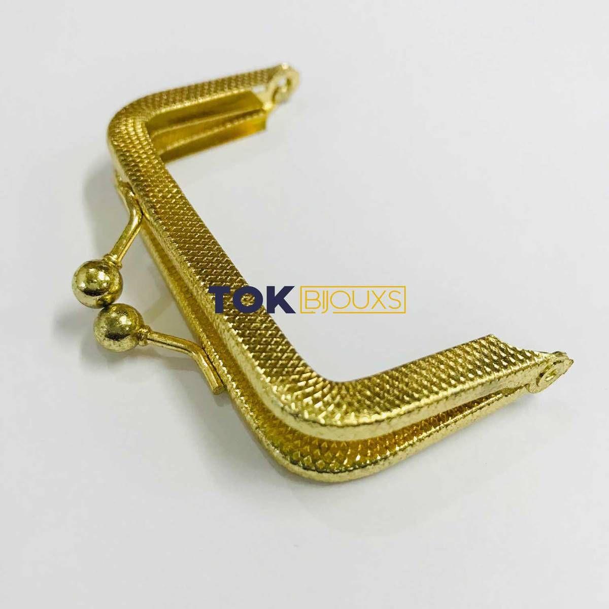 Fecho Da Vóvó Armação - 7x4cm - Dourado - 1 Un