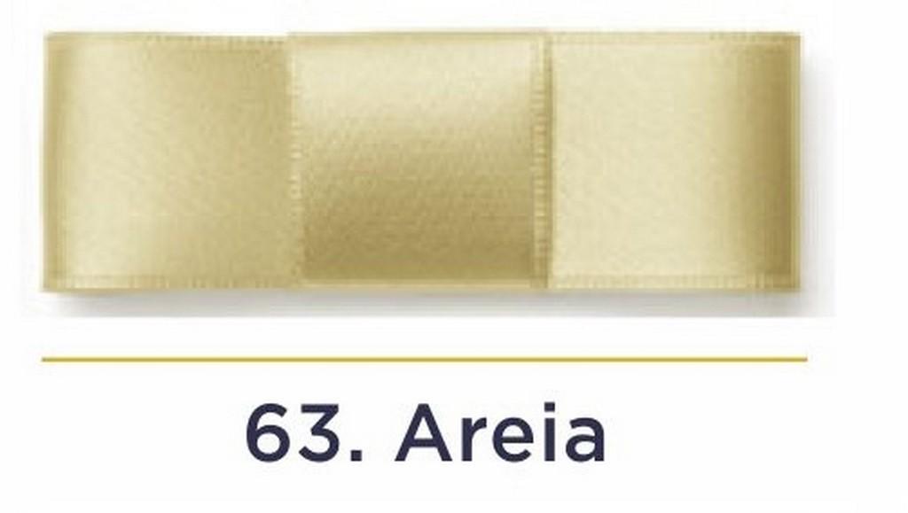 Fita Cetim N.0 - 3mm - COR (63) Areia - Rolo 100 Metros