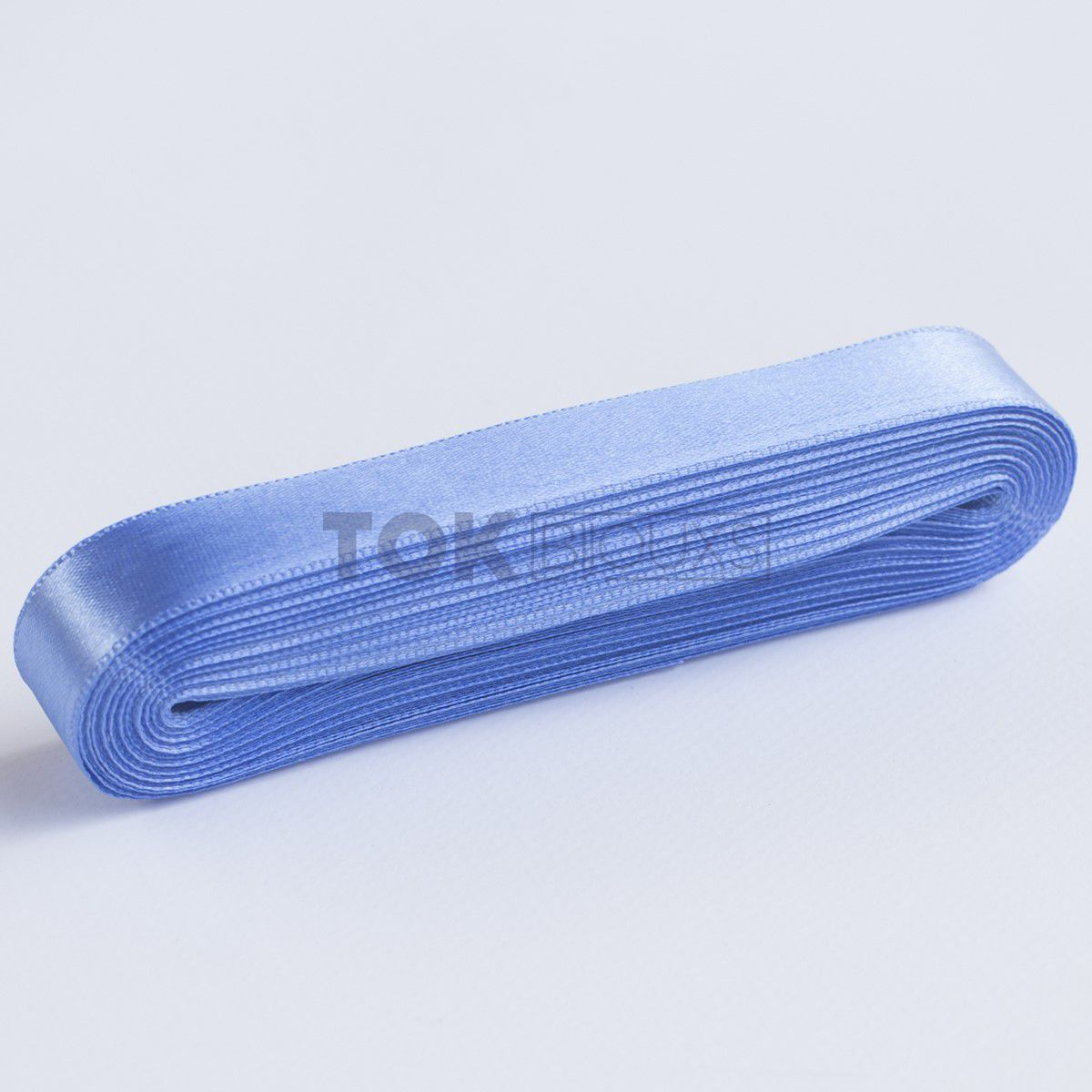 Fita Cetim N.1 - 7mm - 10 Metros - COR (12) Azul Médio