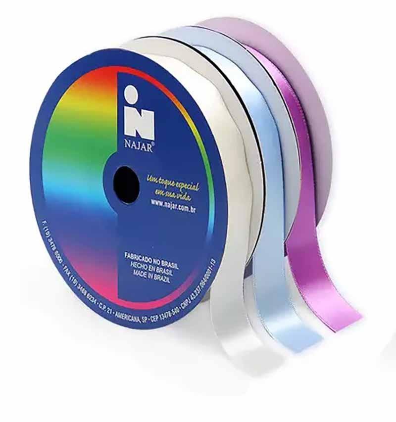 Fita Cetim N.2 - 10mm - 50 Metros - COR (30) Pink Forte