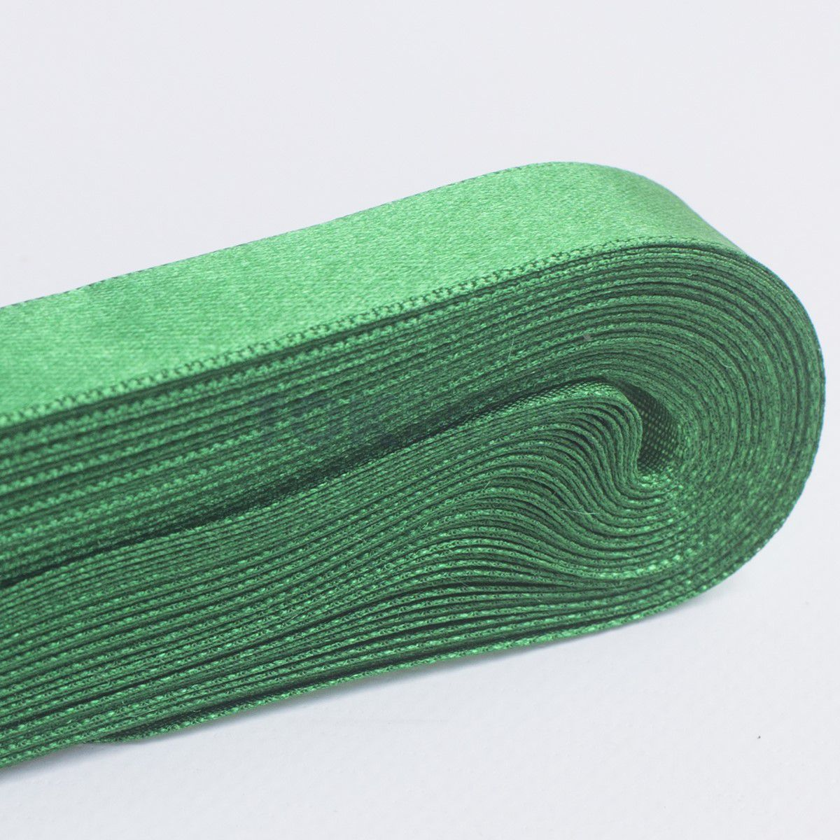 Fita Cetim N.3 - 15mm - 10 Metros - COR (23) Verde Bandeira