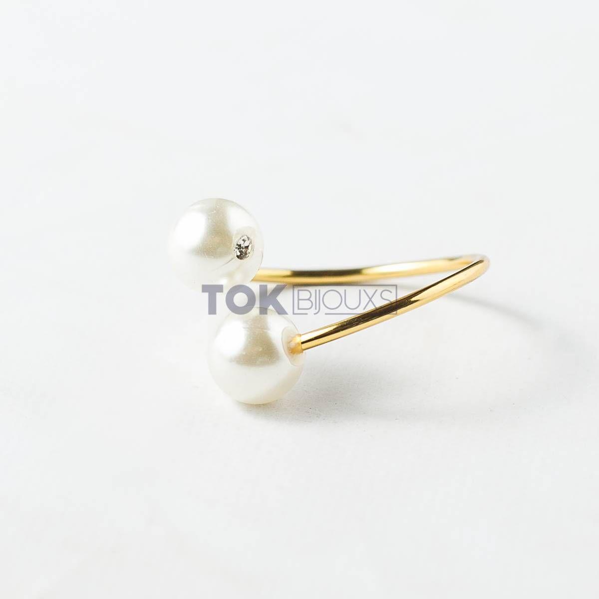 Kit Completo - 100 Porta Guardanapo Pérola - Dourado
