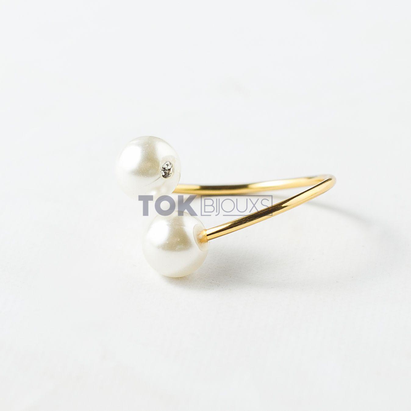 Kit Completo - 300 Porta Guardanapo Pérola - Dourado