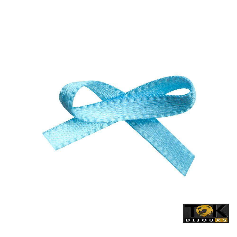 Laçinho Cetim N.0 - Azul Claro - 100 Unid