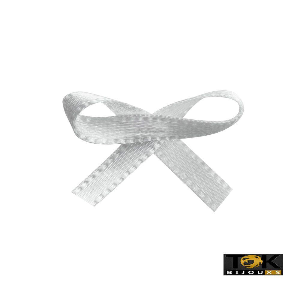 Laçinho Cetim N.0 - Branco - 100 Unid