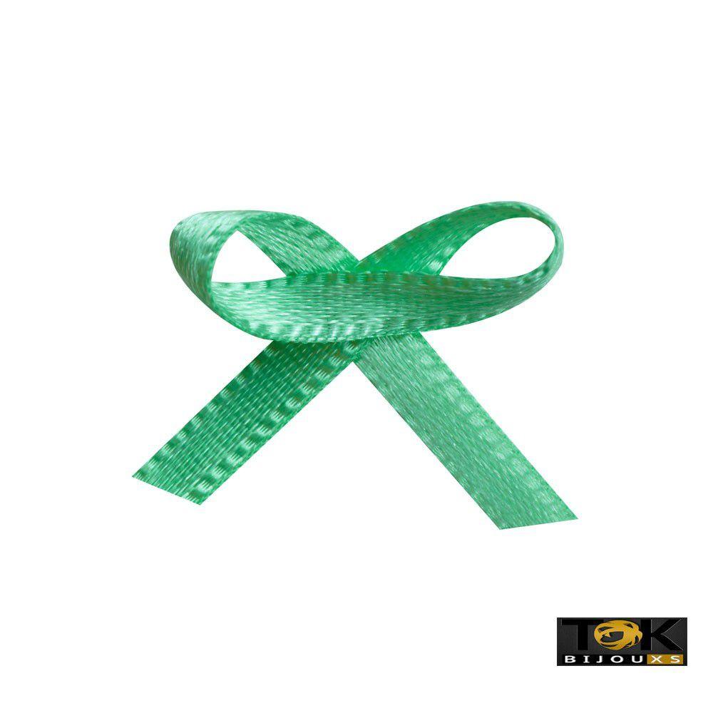 Laçinho Cetim N.0 - Verde Agua - 100 Unid