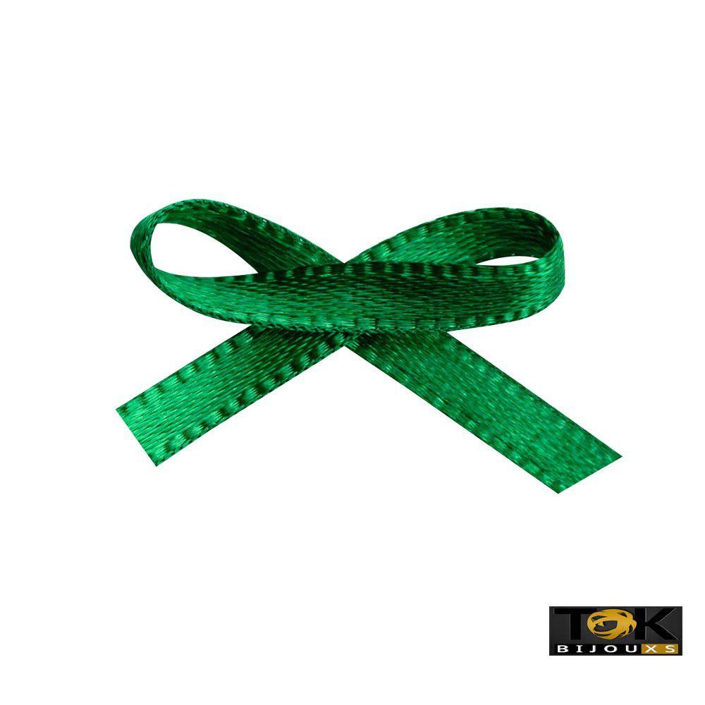 Laçinho Cetim N.0 - Verde Bandeira - 100 Unid