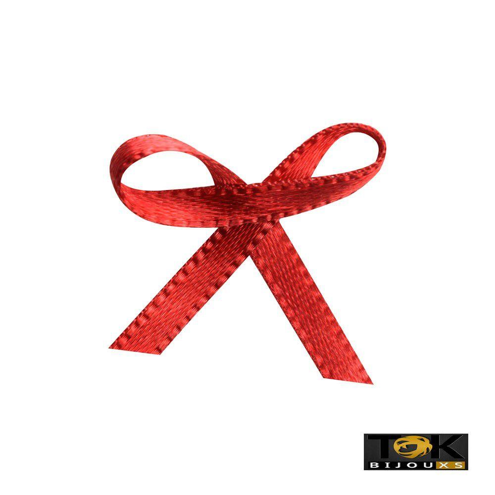 Laçinho Cetim N.0 - Vermelho - 100 Unid