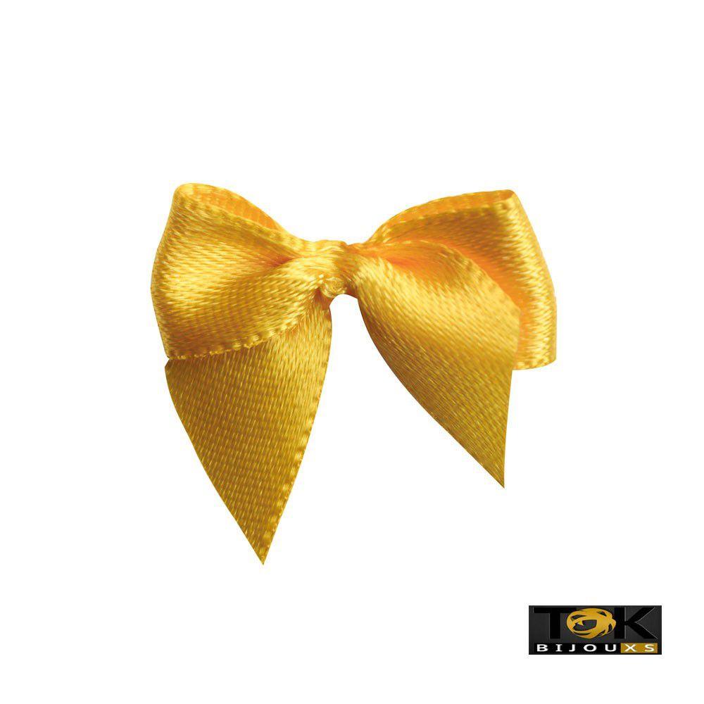 Laçinho Cetim N.2 - Amarelo - 50 Unid