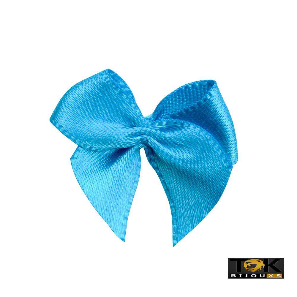 Laçinho Cetim N.2 - Azul Turquesa - 50 Unid