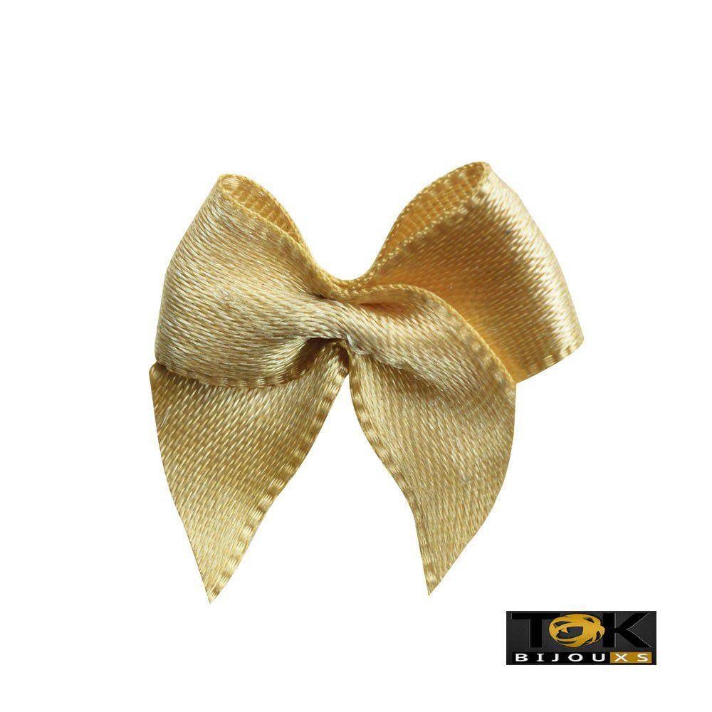 Laçinho Cetim N.2 - Dourado - 50 Unid