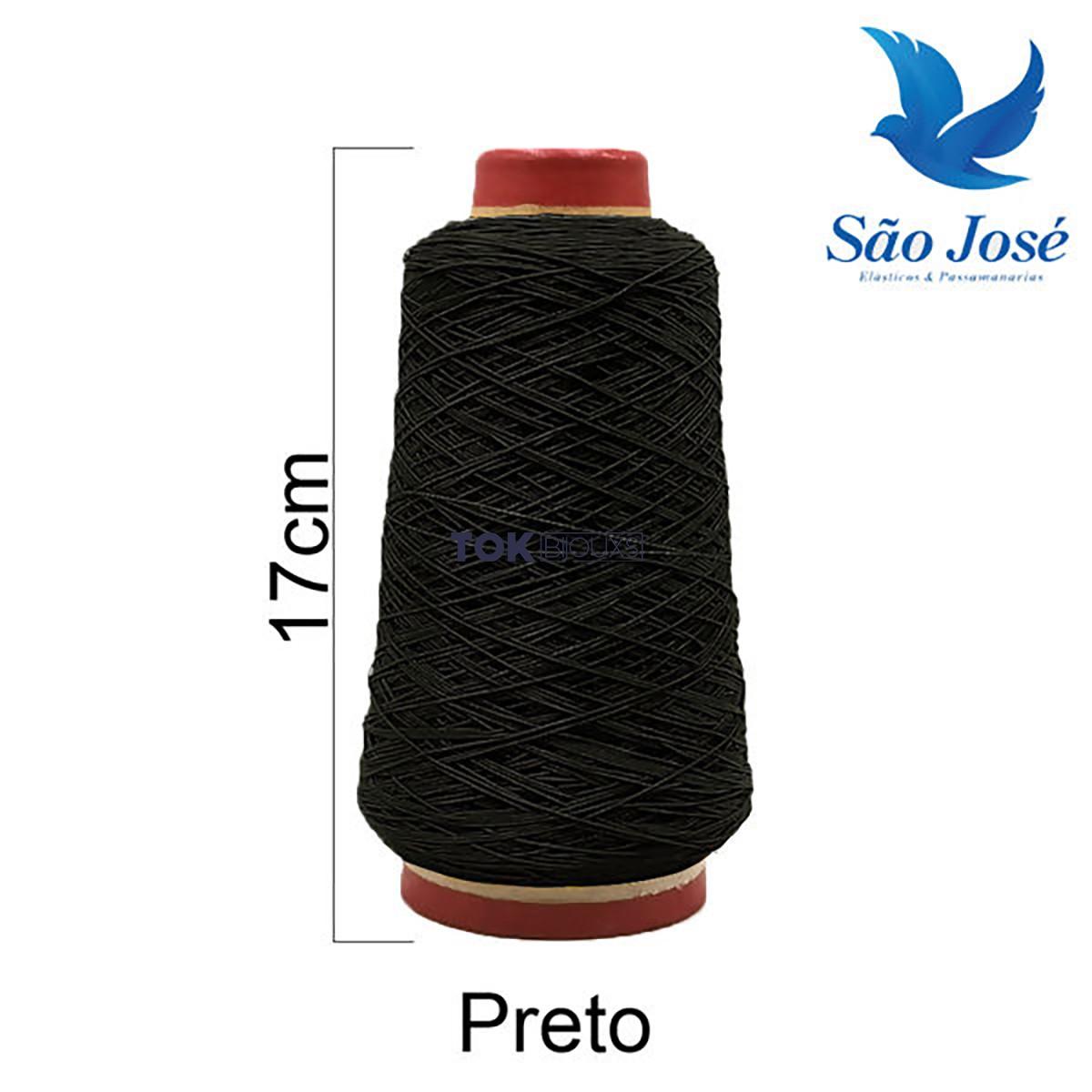 Lastex - Preto - 500 Metros