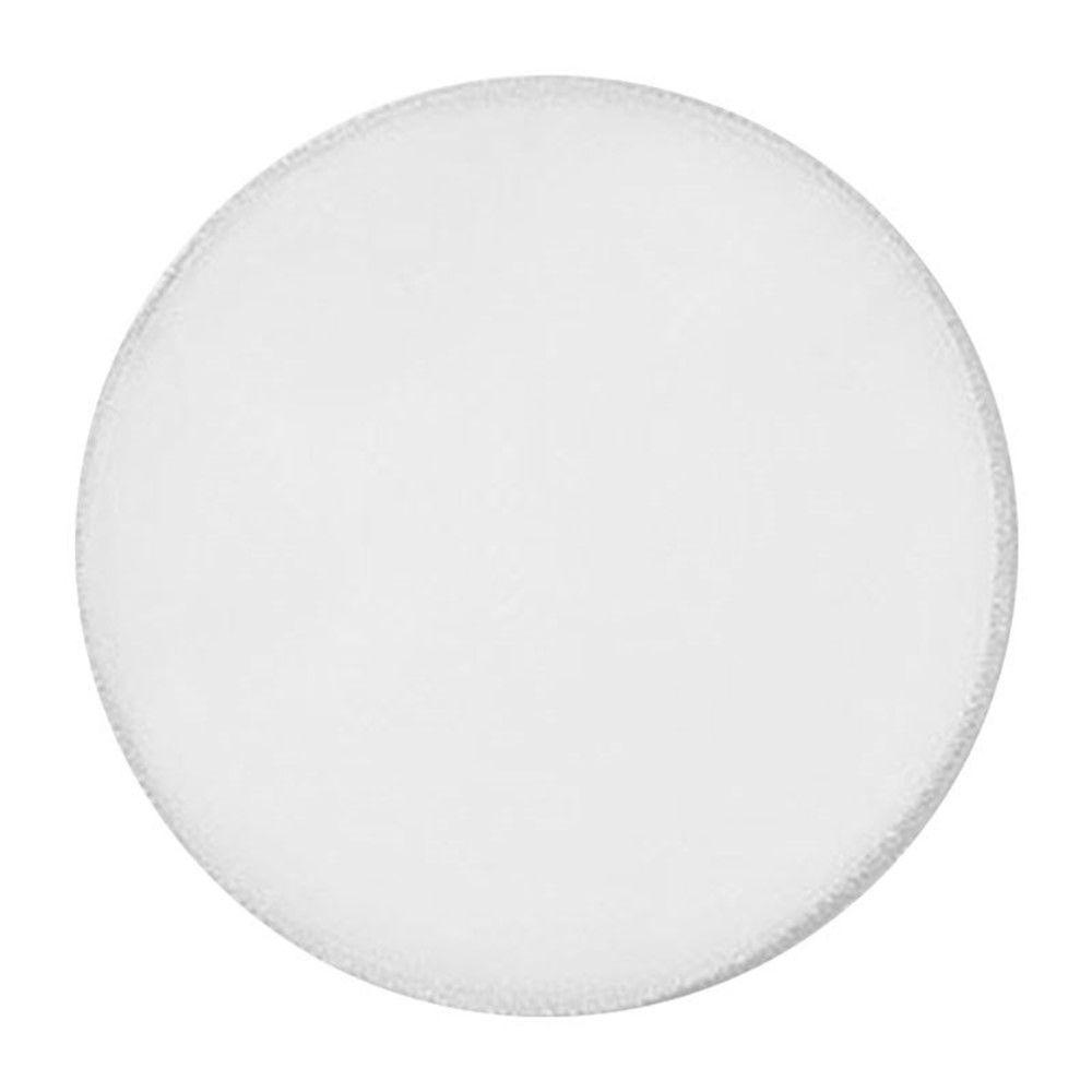 Lenço de Organza -  25cm - Fio Branco - 25 unid