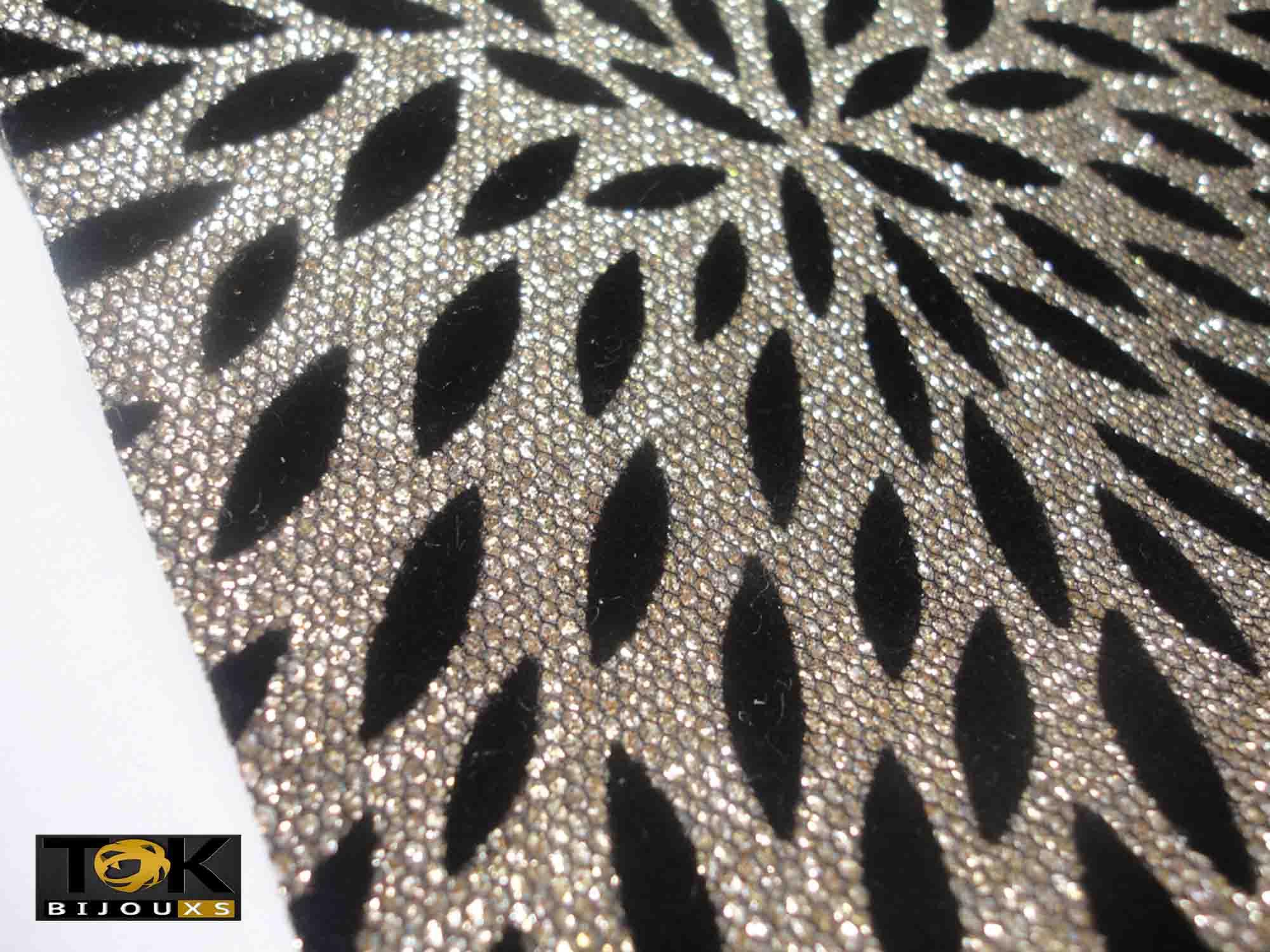 Lonita Navete Glitter Dourada