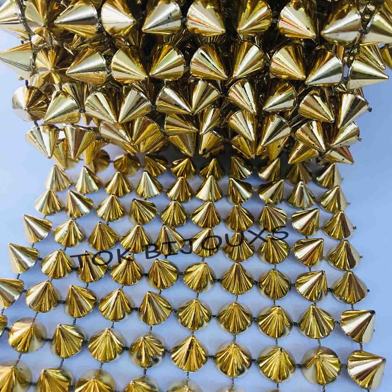 Manta De Spike - Dourado - 1 Metro