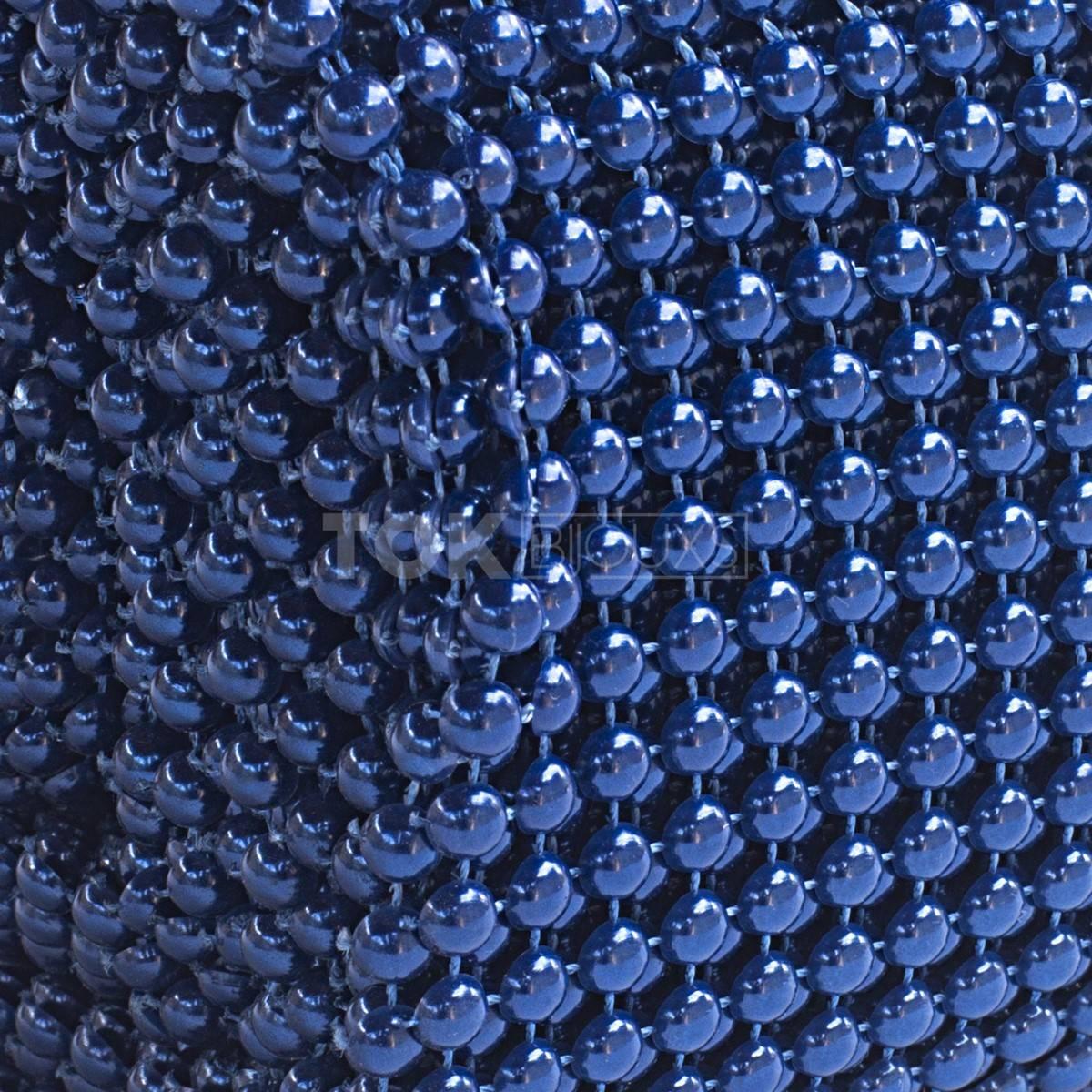 Manta Meia Pérola Abs - 6mm - Azul Royal -1 Metro
