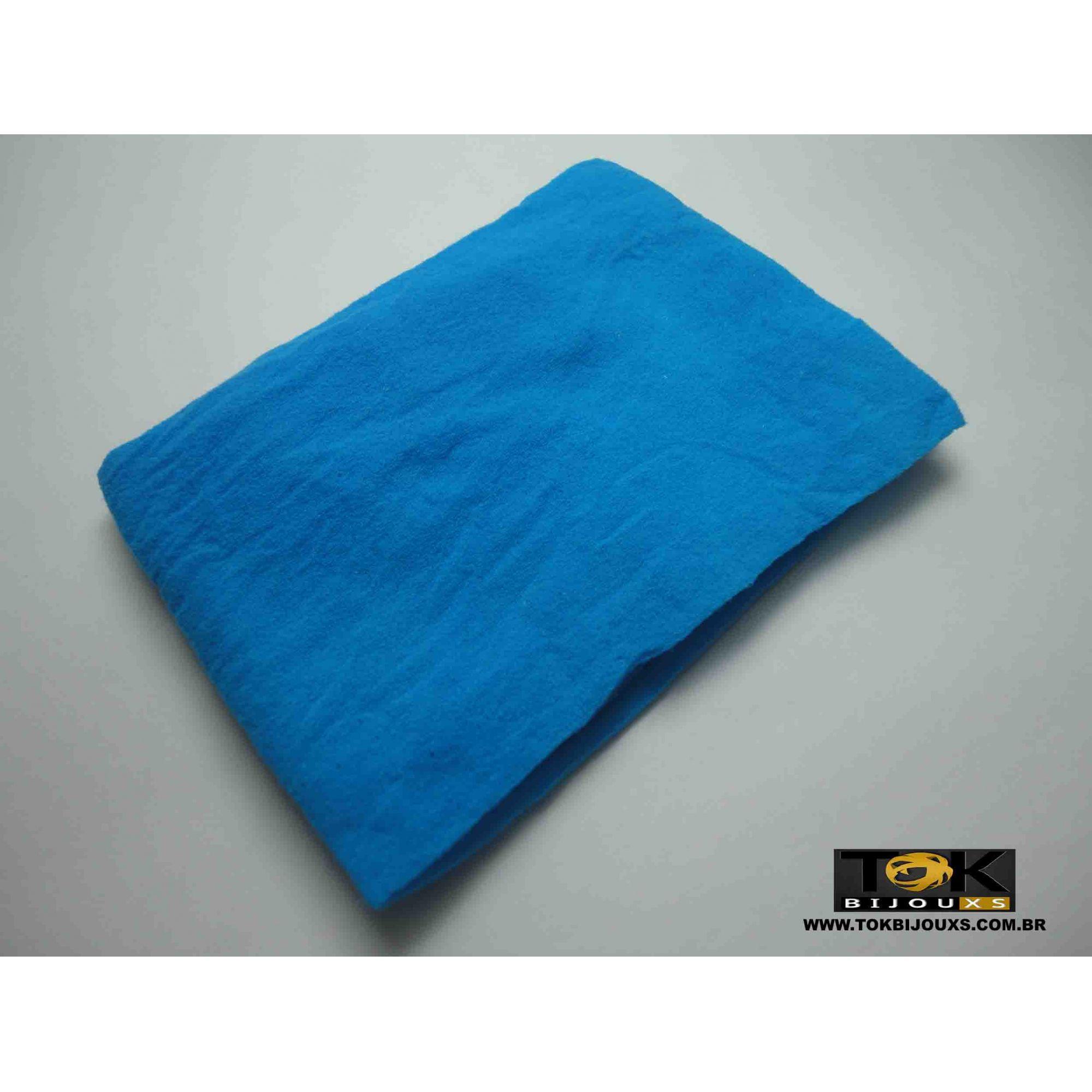 Meia De Seda - Azul Turquesa - 1 Unid