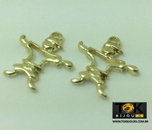 Menino - Dourado - 10 Unid