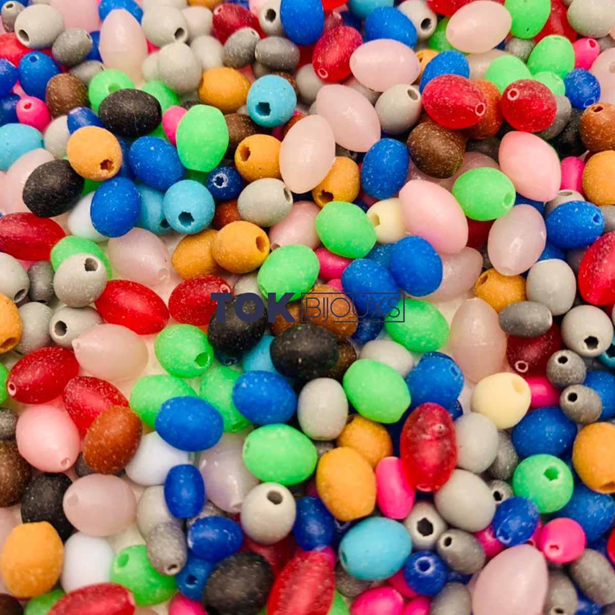 Miçangas Sortidas - Arrozinho - Colorido - 250g