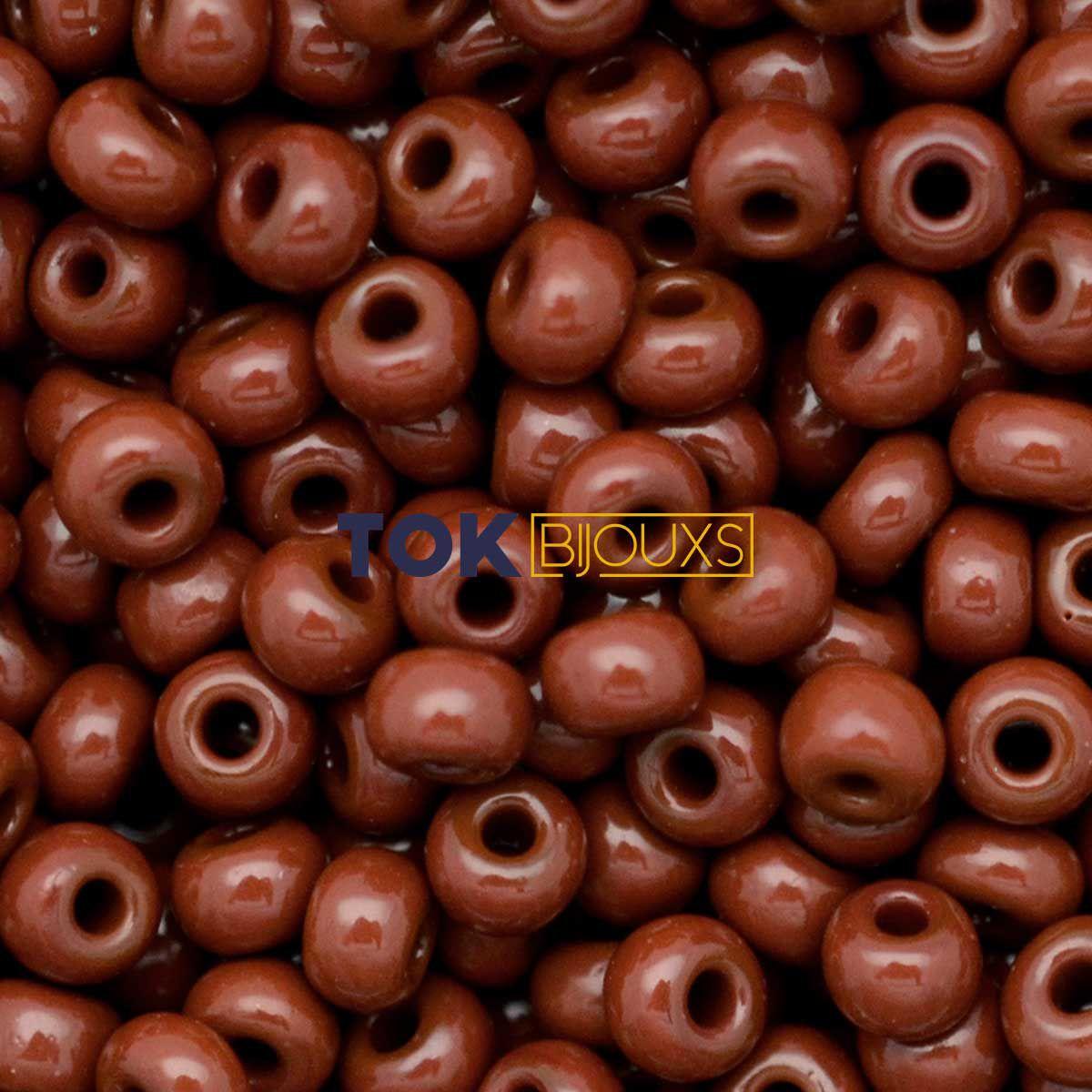 Missangão Jablonex - Marrom Leitoso - 25g